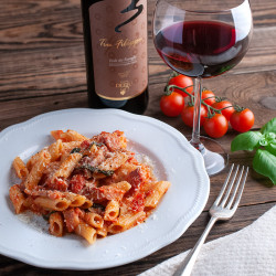 Recipe Box Penne Amatriciana